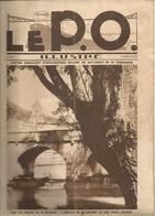 Le P.O. -revue -Brantôme; Gare Sceaux,Gentilly,Montluçon,Capdenac;autocar;chasse Neige Du P.O....1929 - Railway & Tramway