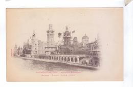 75 PARIS  Exposition Universelle 1900 Pavillon Etranger Espagne Monaco Suede Grece - Exhibitions