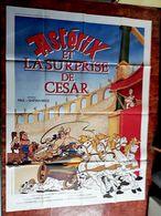 AFF CINE ORIG NEUVE ASTERIX ET LA SURPRISE DE CESAR (1985) 120X160 Uderzo Goscinny - Posters