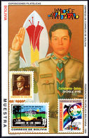 Bolivia 1994 Scouts MUESTRA Souvenir Sheet Unmounted Mint. - Bolivia