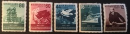 BULGARIA - MH* - 1957 - # 982/986, 903, 907 - Gebruikt