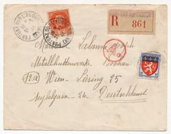 Lettre Rec Depuis PONTOUX SUR L'ADOUR (Landes) 1944 Pour Travailleur STO En Autriche - Censure Ae - 1941-42 Pétain