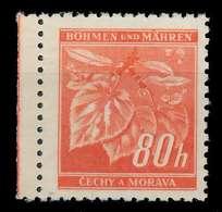 BÖHMEN MÄHREN 1941 Nr 66a Postfrisch X8286FA - Bohemia & Moravia