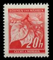 BÖHMEN MÄHREN 1939-1940 Nr 22 Postfrisch X828812 - Bohemia & Moravia