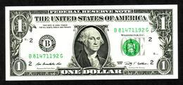 USA, 1$, 2009, UNCL, Serie B - Billets De La Federal Reserve (1928-...)