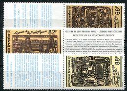 Polynésie, N° 347 à N° 349** Y Et T Avec Vignette - Neufs