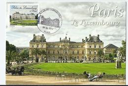 Carte Maximum PARIS  Palais Du Luxembourg - Cartoline Maximum