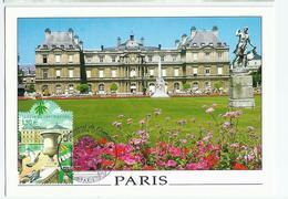 Carte Maximum PARIS  Jardin & Palais Du Luxembourg - Ohne Zuordnung