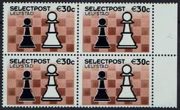 Schach Chess Ajedrez échecs - Niederlande Nederland - Stadspost Lelystad - Selectpost - Schach