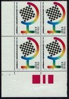 Schach Chess Ajedrez échecs -Italia Italien 2006 -  Schach-Olympiade - MiNr 3121 Vierenblock - Schach