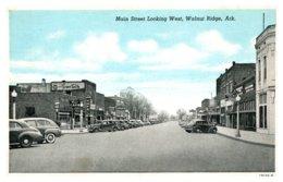 Arkansas Walnut Ridge ,  Main Street Looking West - United States
