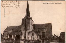6ZY 338 CPA - MUZILLAC - L'EGLISE DE BOURG PAUL - Muzillac