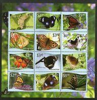 Tonga Niuafo'ou 2012 Butterflies Insect Moth Sc 287 Sheetlet MNH # 15146 - Papillons