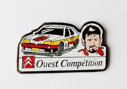 Pin's Voiture Rallye Ouest Compétition Citroen - BL2 - Badges