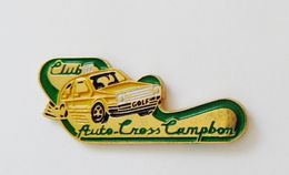 Pin's Voiture Club Auto Cross Campbon - BL2 - Badges