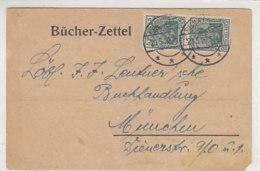 Bücherzettel Aus HILDBURGHAUSEN 20.5.20 Nach München / Bedarf - Deutschland