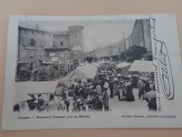 Langeac - Boulevard National, Jour De Marché - Marchés