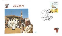 13348 - Visite JEAN PAUL II - Soudan (1954-...)