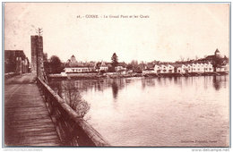 58 COSNE - Le Grand Pont Et Les Quais - Cosne Cours Sur Loire