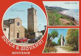 SOUVENIR ROCCA SAN GIOVANNI   (535) - Saluti Da.../ Gruss Aus...