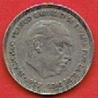 SPAIN  # 25 PESETAS FROM 1957  -  58 - [5] 1949-…: Monarchie