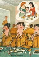 CARTOLINA UMORISTICA MILITARE   (540) - Humor