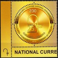 ARMENIA 2018-19 National Currency - Dram 25 Years. Money. Emblem-CORNER, MNH - Monedas