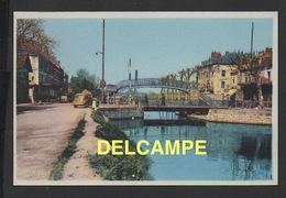 DD / 71 SAÔNE ET LOIRE / MONTCEAU LES MINES / LE CANAL AU PONT TOURNANT - Montceau Les Mines