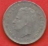 SPAIN  # 5 PESETAS FROM 1975 - [ 5] 1949-… : Royaume