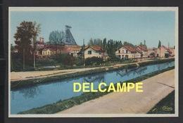 DD / 71 SAÔNE ET LOIRE / MONTCEAU LES MINES / VUE DU PUITS PLICHON ET CANAL DU CENTRE - Montceau Les Mines