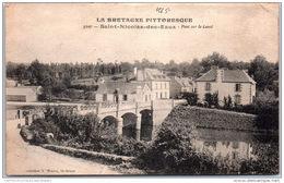 56 SAINT NICOLAS DES EAUX - Pont Sur Le Canal - Altri Comuni