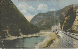 BAILE CALIMANESTI - SCRITTA  1921  (553) - Romania