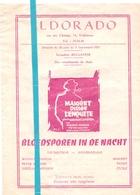 Pub Reclame Ciné Cinema Bioscoop Film - Eldorado - Gent - Maigret Dirige L'enquette - Cinema Advertisement