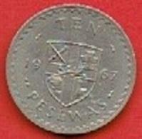 GHANA   #   5 Millièmes FROM 1967 - Ghana