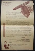 T.Doc. 6. Bulletin De Commande à L' Union Belge Des Tabacs à St-Nicolas-Waes En 1947 - Documents