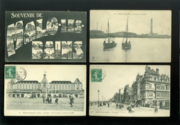 Lot De 18 Cartes Postales De France  Nord  Malo - Les - Bains   Lot Van 18 Postkaarten Van Frankrijk ( 59 )  - 18 Scans - Cartes Postales