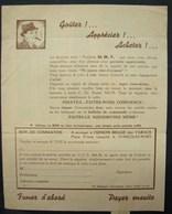 T.Doc. 8. Publicité Et Bulletin De Commande à L' Union Belge Des Tabacs à St-Nicolas-Waes En 1949 - Documents