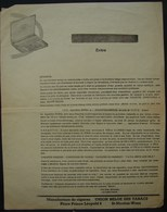 T.Doc. 9. Feuillet Publicitaire De L'Union Belge Des Tabacs à St-Nicolas-Waes - Documents