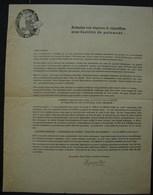 T.Doc. 10. Feuillet Publicitaire Et Bon De Commande De L'Union Belge Des Tabacs à St-Nicolas-Waes - Documents
