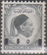 Libia 1955 5M/4m 1v MiN°70 MNH - Libye