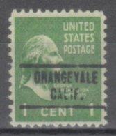 USA Precancel Vorausentwertung Preo, Locals California, Orangevale 734 - Vereinigte Staaten