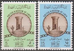 Libia 1961 2v MiN°107-108 MNH - Libye