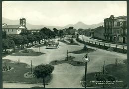 CARTOLINA - CV1864 TRECCHINA (Potenza PZ) Piazza Del Popolo E Giardini Pubblici, Viaggiata 1958, Ottime Condizioni - Potenza