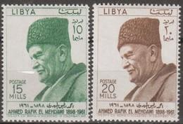 Libia 1962 2v MiN°120-121 MNH - Libye