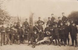 MILITARIA ARTILLEUR CANON CARTE PHOTO - Guerra 1914-18