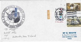 MC MURDO ROSS ISLAND      ANTARTIC CIRCLE   16 OCT 1986 - Oblitérés