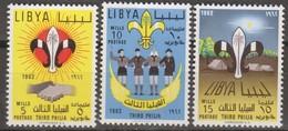 Libia 1962 3v MiN°122-124 MNH - Libye