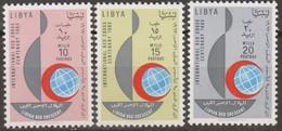 Libia 1963 3v MiN°130-132 MNH - Libye