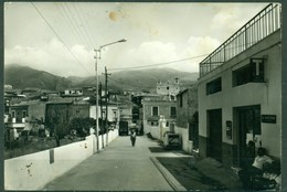 CARTOLINA - CV1865 SAN NICOLA ARCELLA (Cosenza CZ) Corso B. Lomonico, Viaggiata 1969, Francobollo Asportato, - Catanzaro