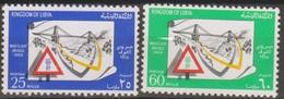 Libia 1968 2v MiN°266-267 MNH - Libye